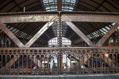 Luz-Bahnstation Stockbilder