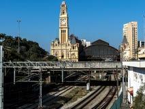 Luz-Bahnstation lizenzfreie stockfotos