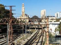 Luz-Bahnstation stockfotos