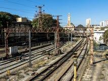 Luz-Bahnstation lizenzfreie stockfotografie
