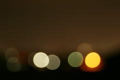 Luzes. Foto de Stock