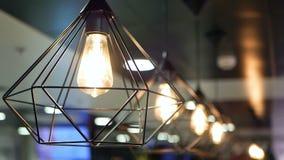 Luz bonita das lâmpadas filme