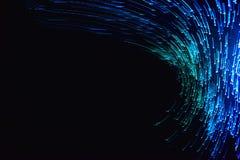 Luz borrosa abstracta, efecto del movimiento fotografía de archivo