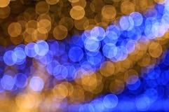 Luz borrosa del bokeh Fotografía de archivo libre de regalías