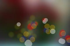 Luz borrosa del círculo Foto de archivo