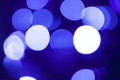 Luz borrosa en la ciudad Imagenes de archivo
