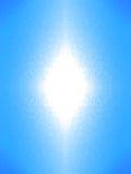 Luz branca abstrata Imagem de Stock