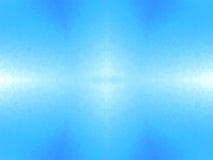 Luz branca abstrata - fundo azul Foto de Stock