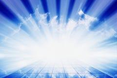 Luz brilhante Imagem de Stock Royalty Free
