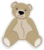 Luz - bronzeie o urso da peluche Foto de Stock Royalty Free