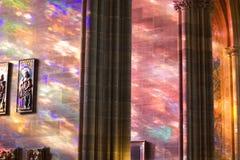 Luz celeste Fotos de archivo libres de regalías