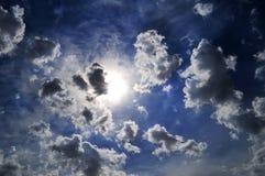 Luz celeste fotos de archivo