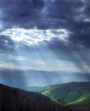Luz celeste Foto de archivo libre de regalías