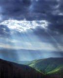Luz celestial Foto de Stock Royalty Free