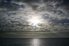 Luz celestial fotografia de stock