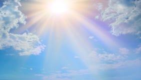 Luz celestial miraculosa raramente vista foto de stock royalty free