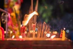 Luz china de la vela Imagenes de archivo