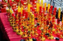 luz china ecléctica de la vela Imágenes de archivo libres de regalías