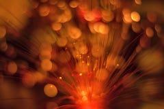Luz, chispas borrosas como fondo Fotografía de archivo libre de regalías