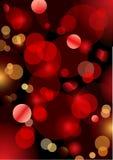 Luz chispeante de la Navidad Fotografía de archivo libre de regalías
