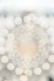 Luz circular de Bokeh, Fotografia de Stock Royalty Free