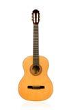 Luz clássica da guitarra acústica - marrom Imagens de Stock Royalty Free