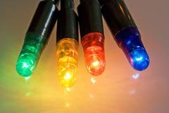 Luz coloreada Fotos de archivo libres de regalías