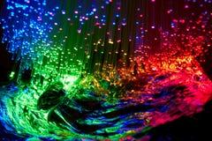 Luz colorida foto de stock