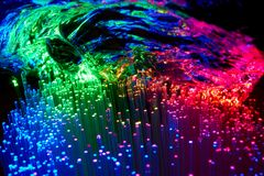 Luz colorida fotografia de stock royalty free