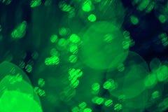 Luz colorida abstracta del bokeh Imagen de archivo libre de regalías