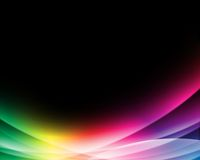 Luz colorida abstrata Fotografia de Stock Royalty Free