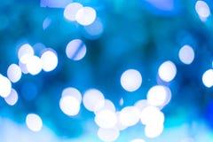 Luz colorida del brillo del abstra del fondo de la iluminación de la Navidad Foto de archivo