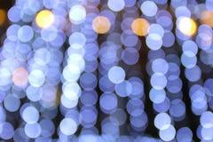 Luz colorida do bokeh como o fundo imagens de stock royalty free