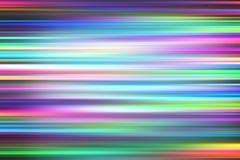 Luz colorida y fondo rápido móvil de las rayas Fotografía de archivo
