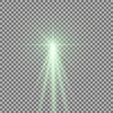 Luz con un resplandor Imagen de archivo