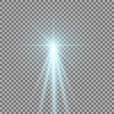 Luz con un resplandor Fotografía de archivo
