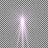 Luz con un resplandor Foto de archivo