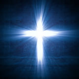 Luz cruzada ilustración del vector