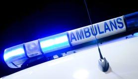 Luz da ambulância Imagem de Stock Royalty Free