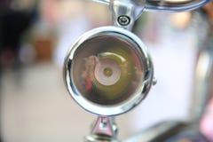 Luz da bicicleta imagem de stock