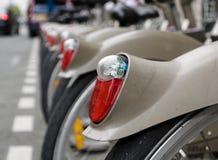 Luz da bicicleta de segurança Fotos de Stock