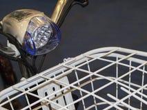 Luz da bicicleta do diodo emissor de luz Imagem de Stock Royalty Free