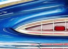 Luz da cauda do carro do vintage Imagens de Stock