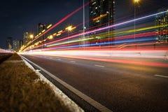 Luz da cidade Imagem de Stock
