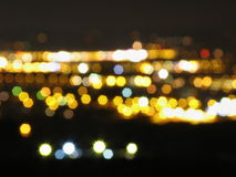 Luz da cidade Imagens de Stock Royalty Free