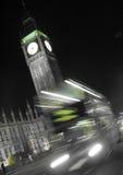 LUZ DA CIDADE DE LONDRES Foto de Stock Royalty Free