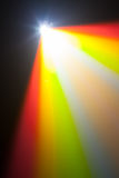Luz da cor do projetor Foto de Stock Royalty Free