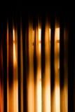 Luz da cortina Foto de Stock