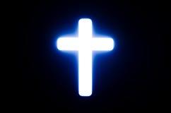 Luz da cruz. Fotografia de Stock Royalty Free