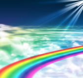 Luz da esperança e da paz Fotos de Stock Royalty Free